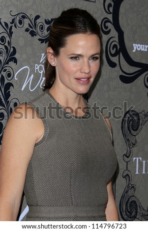 LOS ANGELES - OCT 5:  Jennifer Garner arrives at the Variety's 4th Annual Power Of Women Event at Beverly Wilshire Hotel on October 5, 2012 in Beverly Hills, CA