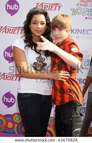 Go Back  gt  Gallery For  gt  Jessica Jarrell And Justin BieberJustin Bieber And Jessica Jarrell Kissing