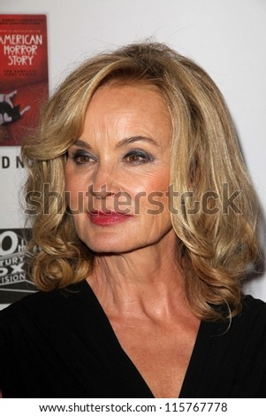 "LOS ANGELES - OCT 13:  Jessica Lange arrives at the ""American Horror Story: Asylum"" Premiere Screening at Paramount Theater on October 13, 2012 in Los Angeles, CA"