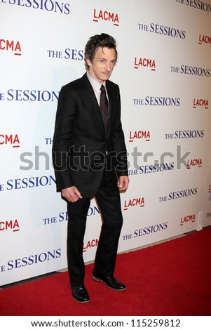 "LOS ANGELES - OCT 10:  John Hawkes arrives at the ""The Sessions"" Los Angeles Premiere at Bing Theater at Los Angeles Museum of Art on October 10, 2012 in Los Angeles, CA"