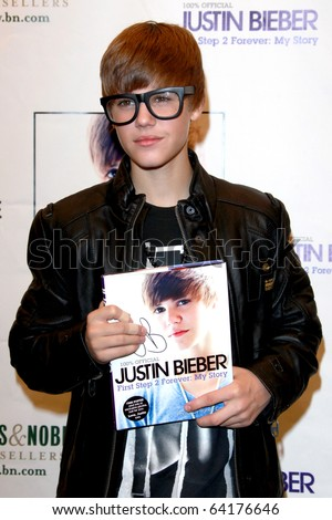 """LOS ANGELES - OCT 31:  Justin Bieber at a book signing for Justin Bieber's book """"First Step 2 Forever:  My Story"""" at Barnes & Noble at The Grove on October 31, 2010 in Los Angeles, CA"""