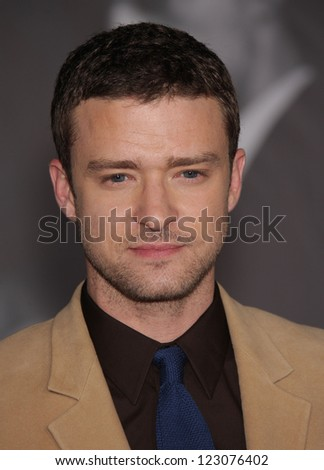 "LOS ANGELES - OCT 20:  Justin Timberlake arriving to ""In Time"" Los Angeles Premiere  on October 20, 2011 in Westwood, CA"