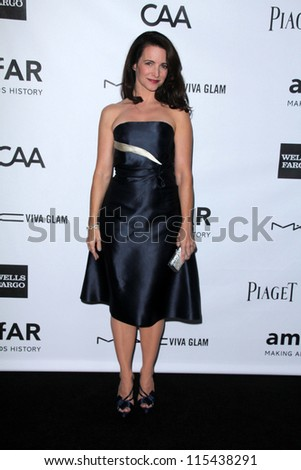 LOS ANGELES - OCT 11:  Kristin Davis arrives at the amfAR Inspiration Gala Los Angeles at Milk Studios on October 11, 2012 in Los Angeles, CA