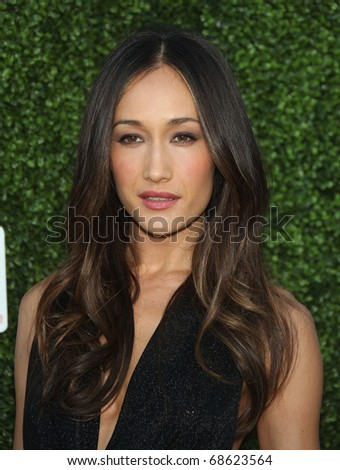 LOS ANGELES - OCT 11:  Maggie Q arrives to the Summer Press Tour 2010-CBS CW Showtime on October 11, 2010 in Beverly Hills, CA