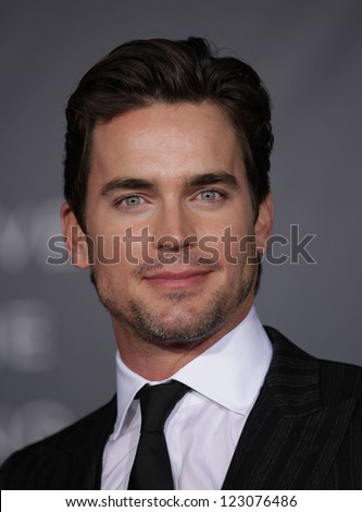 "LOS ANGELES - OCT 20:  Matt Bomer arriving to ""In Time"" Los Angeles Premiere on October 20, 2011 in Westwood, CA - stock photo"