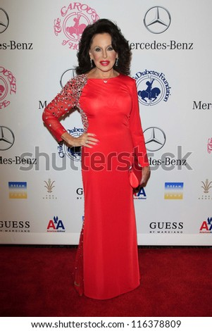 LOS ANGELES - OCT 20:  Nikki Haskell arrives at  the 26th Carousel Of Hope Ball at Beverly Hilton Hotel on October 20, 2012 in Beverly Hills, CA