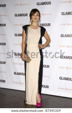LOS ANGELES - OCT 24: Olivia Wilde at the 2011 Glamour Reel Moments premiere presented by Clarisonic held at the Directors Guild Of America on October 24, 2011 in West Hollywood, California