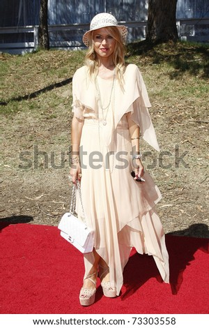LOS ANGELES - OCT 10:  Rachel Zoe arriving at the Veuve Cliquot Polo Classic Los Angeles at Will Rogers Park, Los Angeles, California on October 10,  2010.