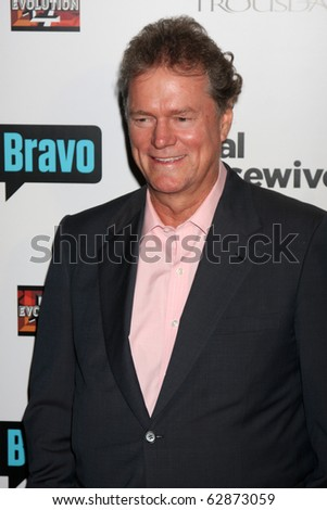 """LOS ANGELES - OCT 11:  Rick Hilton arrives at the """"Real Housewives of Beverly Hlls"""" Premiere Party at Trousdale.Theatre on October 11, 2010 in West Hollywood, CA"""