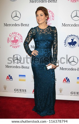 LOS ANGELES - OCT 20:  Sasha Alexander arrives at  the 26th Carousel Of Hope Ball at Beverly Hilton Hotel on October 20, 2012 in Beverly Hills, CA
