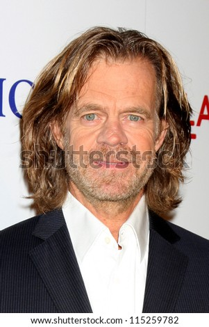 "LOS ANGELES - OCT 10:  William H Macy arrives at the ""The Sessions"" Los Angeles Premiere at Bing Theater at Los Angeles Museum of Art on October 10, 2012 in Los Angeles, CA"