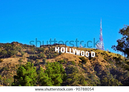 how tall are the hollywood letters los angeles october 16 sign on october 16 10296 | stock photo los angeles october hollywood sign on october in los angeles the sign located in 90788054