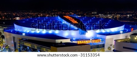 LOS ANGELES - OCTOBER 20: The Staples Center finishes construction and opens for usage on January 26, 1999 in Los Angeles, California