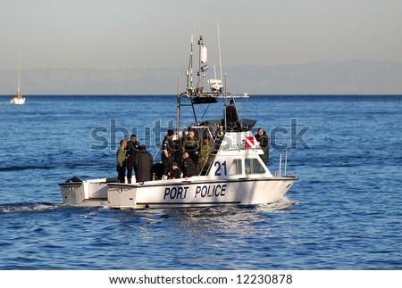 Los angeles port police stock photo 12230878 shutterstock for La port police