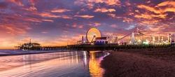 Los Angeles Santa Monica pier California