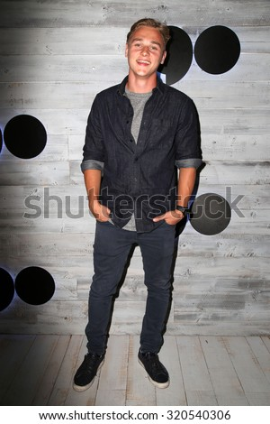 LOS ANGELES - SEP 24:  Ben Hardy at the VIP Sneak Peek Of go90 Social Entertainment Platform at the Wallis Annenberg Center for the Performing Arts on September 24, 2015 in Los Angeles, CA