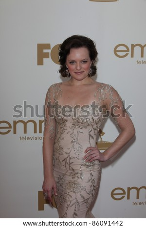LOS ANGELES - SEP 18: Elisabeth Moss at the 63rd Annual Primetime Emmy Awards held at Nokia Theater L.A. LIVE on September 18, 2011 in Los Angeles, California