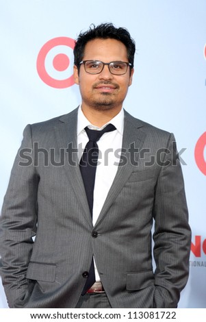LOS ANGELES - SEP 16:  Michael Pena arrives at the 2012 ALMA Awards at Pasadena Civic Auditorium on September 16, 2012 in Pasadena, CA