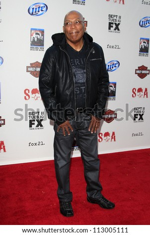"LOS ANGELES - SEP 8:  Paris Barclay arrives at the ""Sons of Anarchy"" Season 5 Premiere Screening at Village Theater on September 8, 2012 in Westwood, CA"