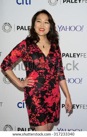5742a70668 LOS ANGELES - SEP 12  Suzy Nakamura at the PaleyFest 2015 Fall TV Preview -