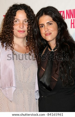"LOS ANGELES - SEP 6:  Tatiana von Furstenberg, Francesca Gregorini arriving at the ""Tanner Hall"" Screening at the Vista Theater on September 6, 2011 in Los Angeles, CA"