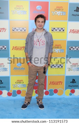 LOS ANGELES - SEP 15:  Taylor Gray arrives at the Variety's Power Of Youth Event at Paramount Studios on September 15, 2012 in Los Angeles, CA