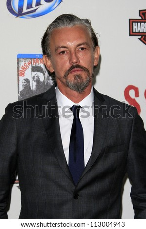 "stock photo : LOS ANGELES - SEP 8:  Tommy Flanagan arrives at the ""Sons of Anarchy"" Season 5 Premiere Screening at Village Theater on September 8, 2012 in Westwood, CA"