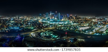 Los Angeles staple center California Stockfoto ©
