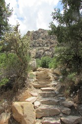 Lost Creek Trail, Red Rock Canyon, Nevada, USA