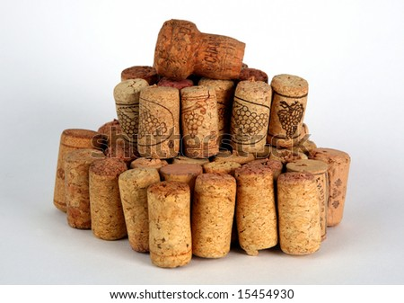 Lot of corks after big party.