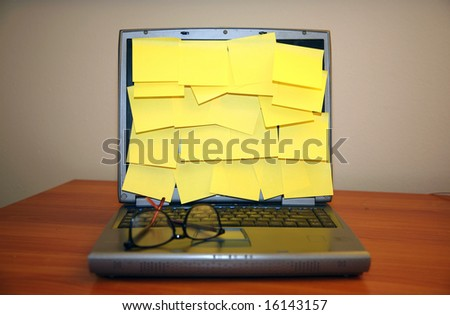 http://image.shutterstock.com/display_pic_with_logo/426/426,1218773500,32/stock-photo-lots-of-blank-sticky-notes-on-a-computer-screen-16143157.jpg