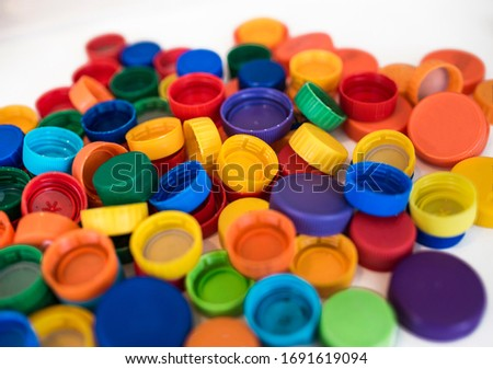 Lots of bottle cap with mixed colours Сток-фото ©