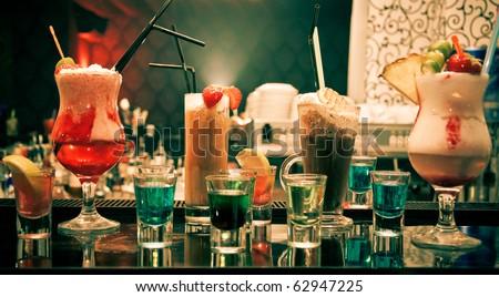 Lots of drinks