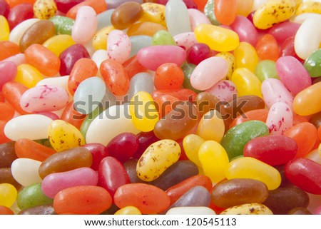 Lots of jelly beans for background use