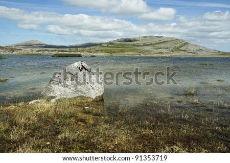 Lough Gealain, Mullaghmore, The Burren National Park, Co. Clare, Ireland