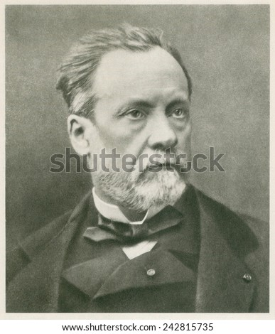 Louis Pasteur (1822-1895), French chemist and microbiologist. Ca. 1870.