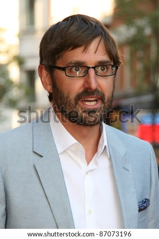 Louis Theroux attending the UK Premiere of Attack The Block at Vue Leicester Square, London. 04/05/2011  Picture by: Alexandra Glen / Featureflash