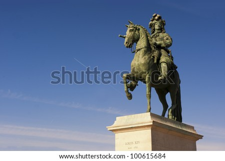 Louis XIV Sculpture in Versailles
