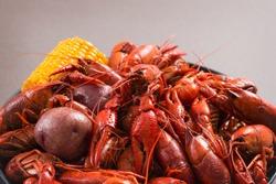 Louisiana Spicy Boiled Cajun Crawfish