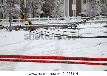 Electric Utility Pole