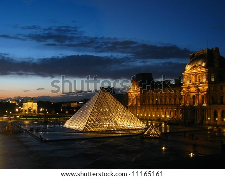 Louvre Museum 05, Paris, France