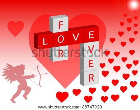 Love - stock photo