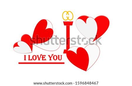 Love. Cherish the love. Love sign on background