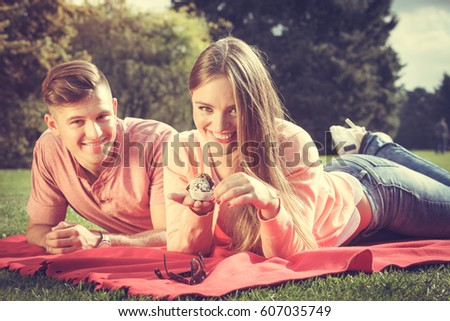 Free Photos Love Food And Happiness Smiling Joyful Cute Couple On