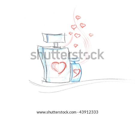 stock photo Love Fragrance