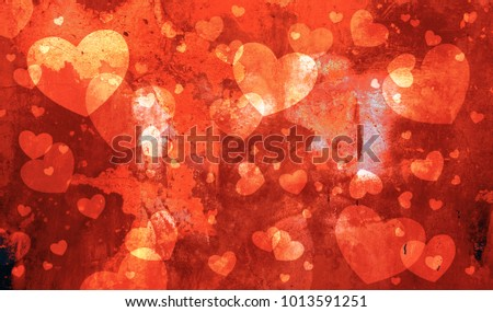 Love Heart Background #1013591251