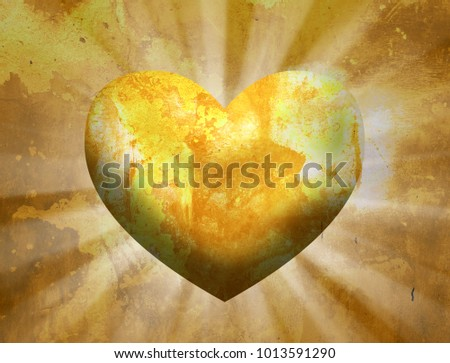 Love Heart Background #1013591290