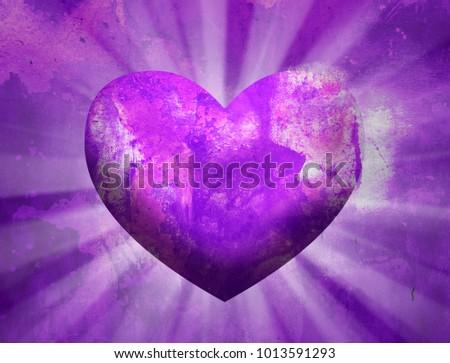 Love Heart Background #1013591293