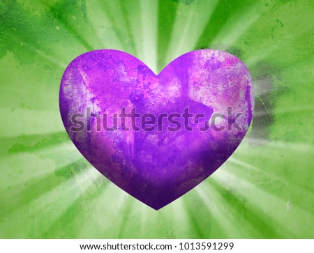 Love Heart Background #1013591299