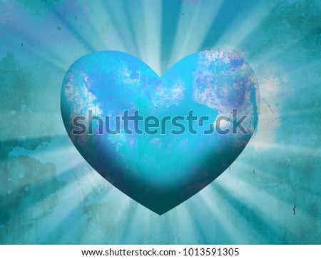 Love Heart Background #1013591305